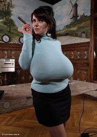 Milena Velba Blue Sweater